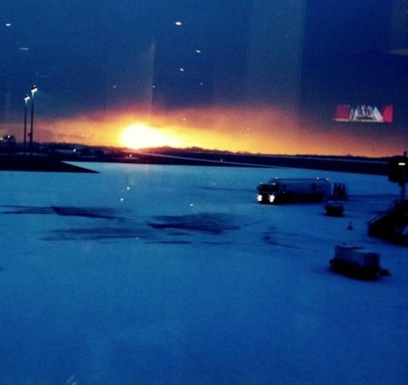 Airport Snow