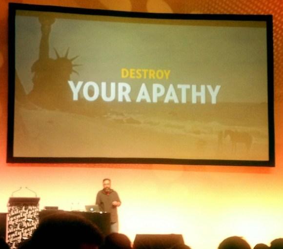 destory apathy