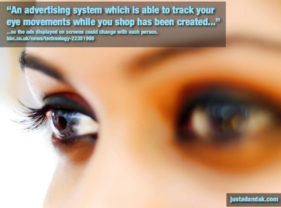 ads tracking your eyes