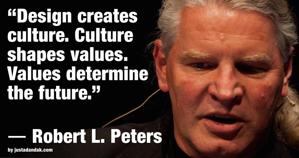 robert l peters design quote