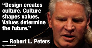 robert l peters design quote