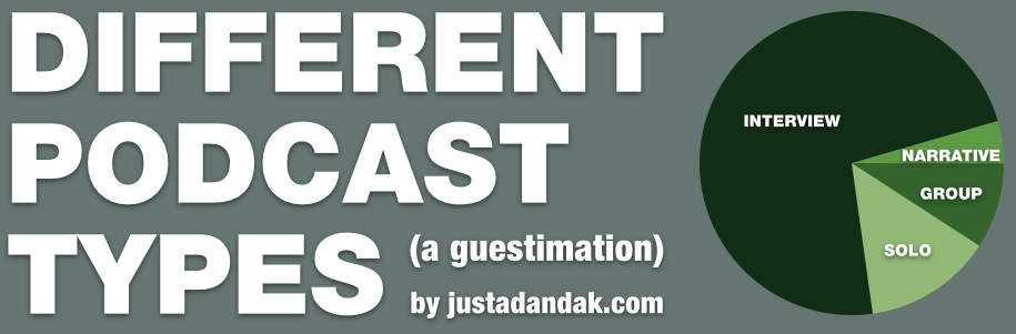 different podcast types