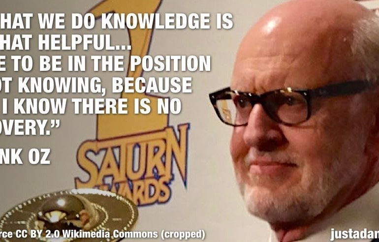 frank oz innocence quote