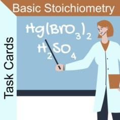 basic stoichiometry task cards