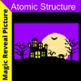 atomic structure halloween pixel art
