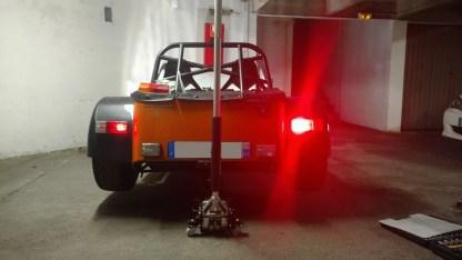 Caterham 7 Rear Light Cluster LED Upgrade Kit 3