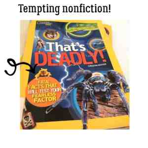 Use nonfiction texts to get your students interested in reading!