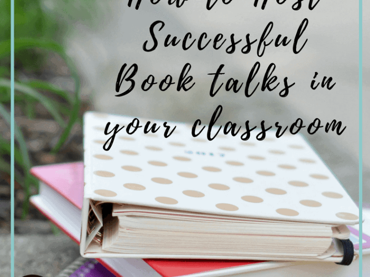 Tips for hosting successful book talks in your classroom