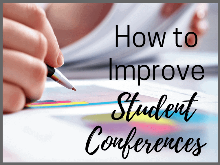 how to improve student conferences
