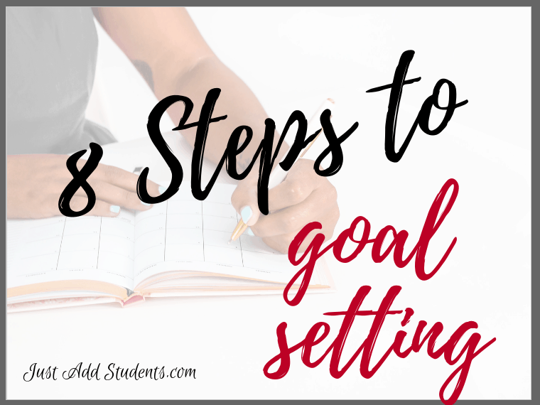 goal setting for middle school students