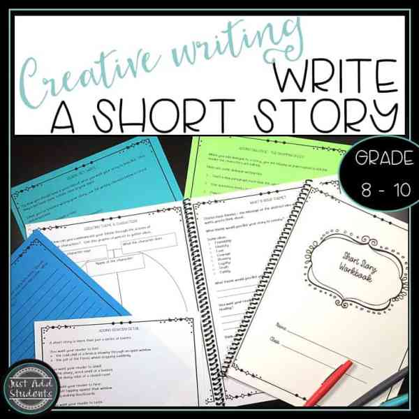 Your students will love writing their own short stories using this workbook. Step-by-step lessons help them formulate their thoughts before writing.