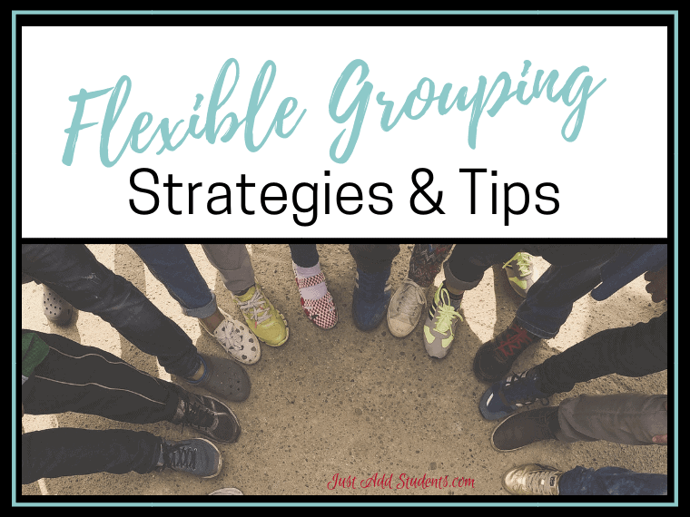 Here are 6 strategies for grouping students. Perfect flexible grouping methods for differentiation, projects, and team building activities.