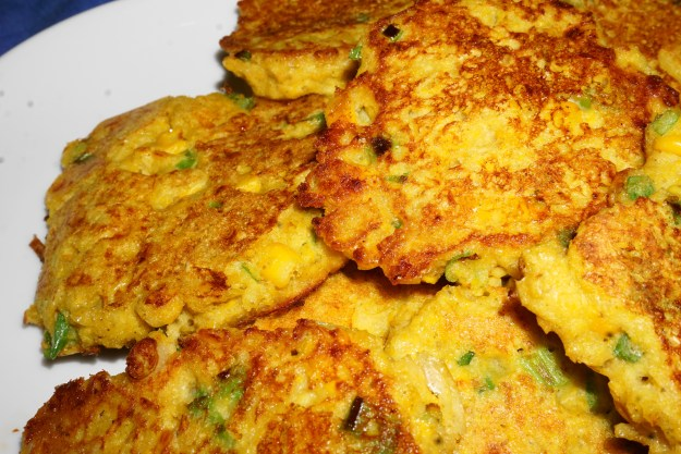 Corn fritters blog