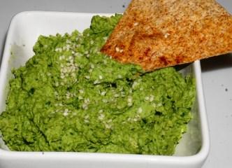 Spinach hummus blog