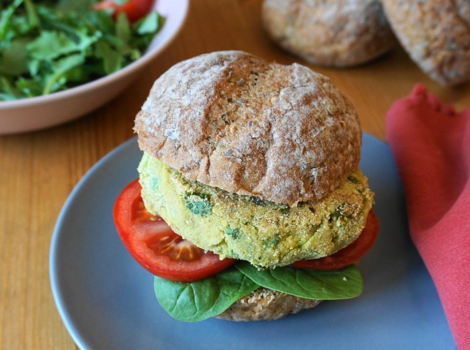 Green garden burger 6