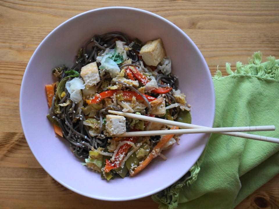 Japanese noodles CU 2