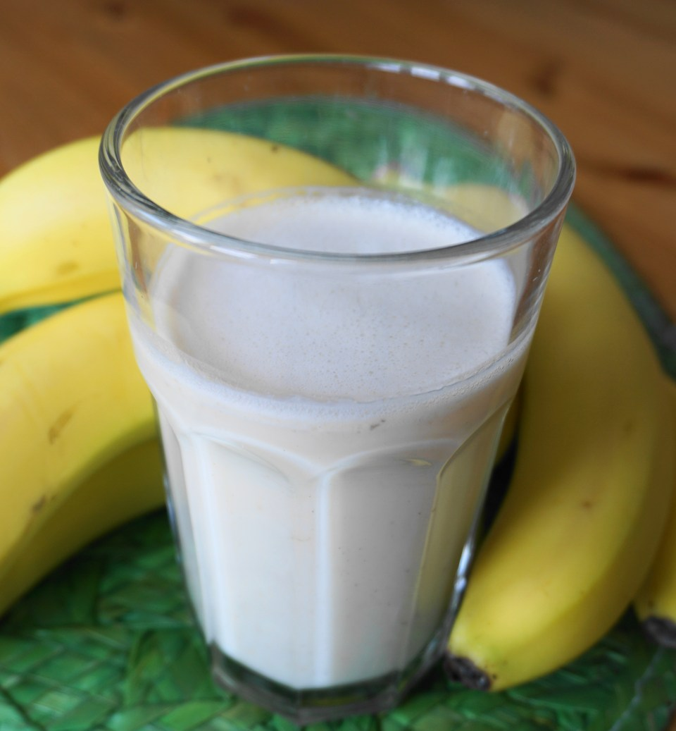 Banana smoothie 3