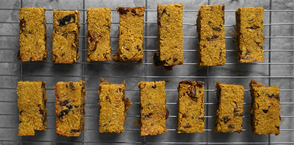 Pumpkin spice coconut bars1
