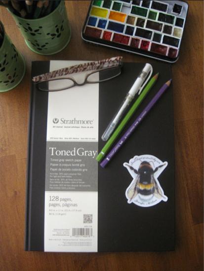 Strathmore 400 series toned paper sketchbook