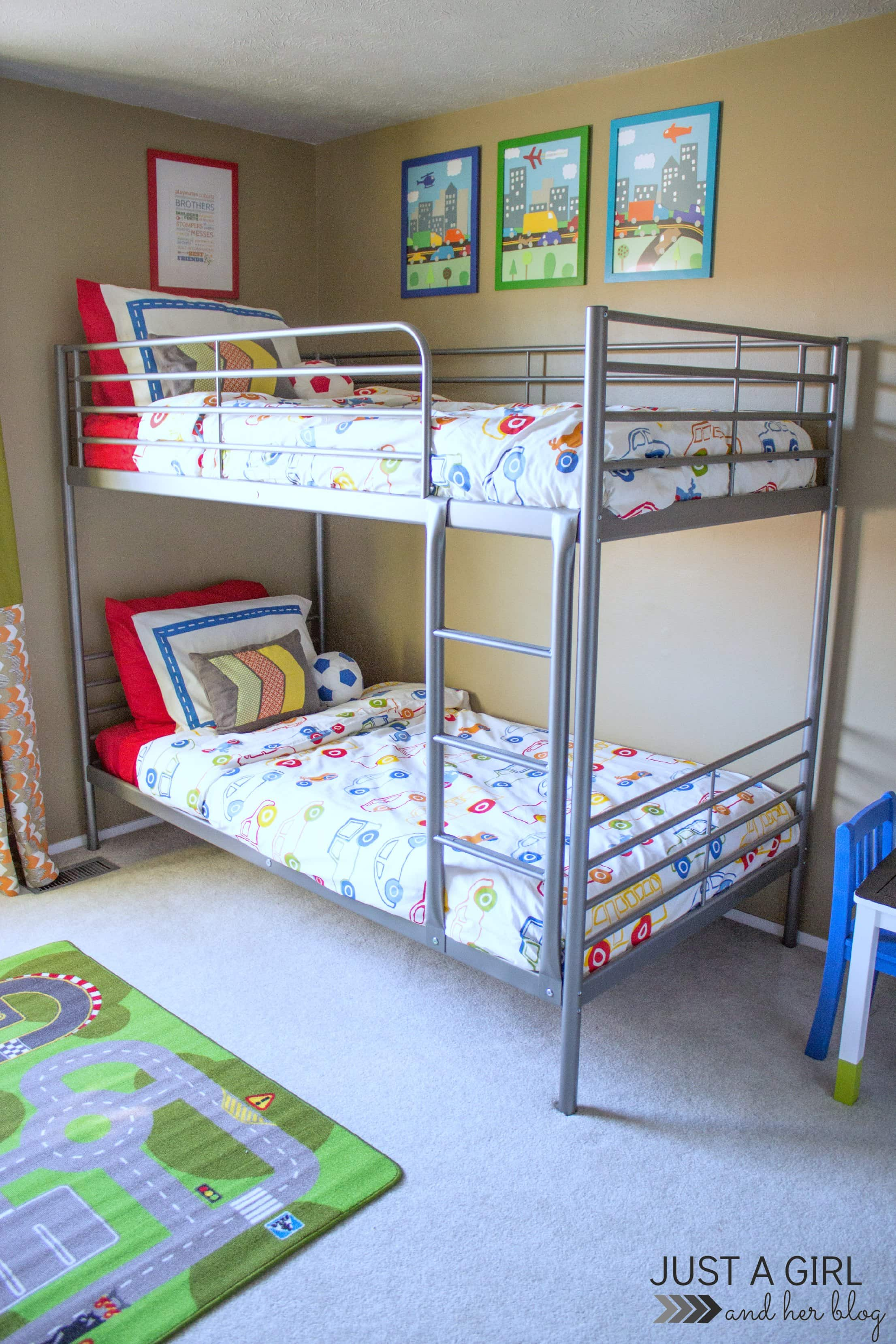 A Shared Boys Bedroom Some Updates And Free Printables