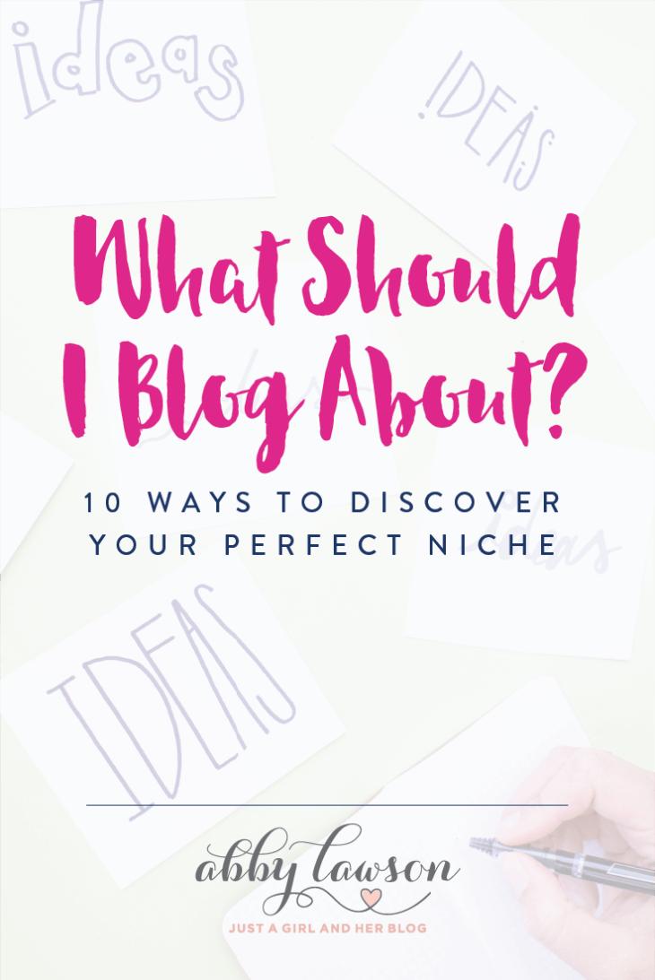 Se você quer começar um blog, mas não tem certeza sobre o que escrever, não perca este post!  Tem ótimas dicas e truques para ajudar você a encontrar o nicho de blog perfeito.  Clique no post para ler todos!