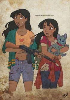 Lilo, Nani and Stitch