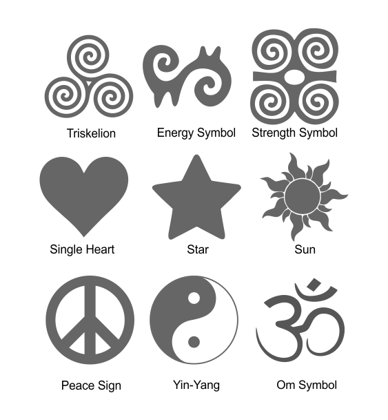 Reflective symbols 2
