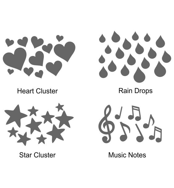 Reflective symbols 5