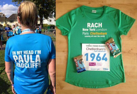 custom running t-shirts