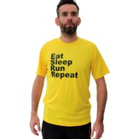 Running t-shirts eat sleep run repeat