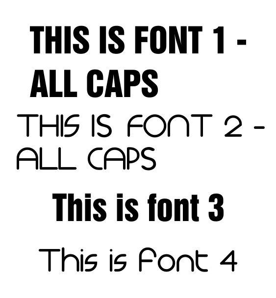 font custom bibs 2
