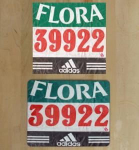 race number placemats