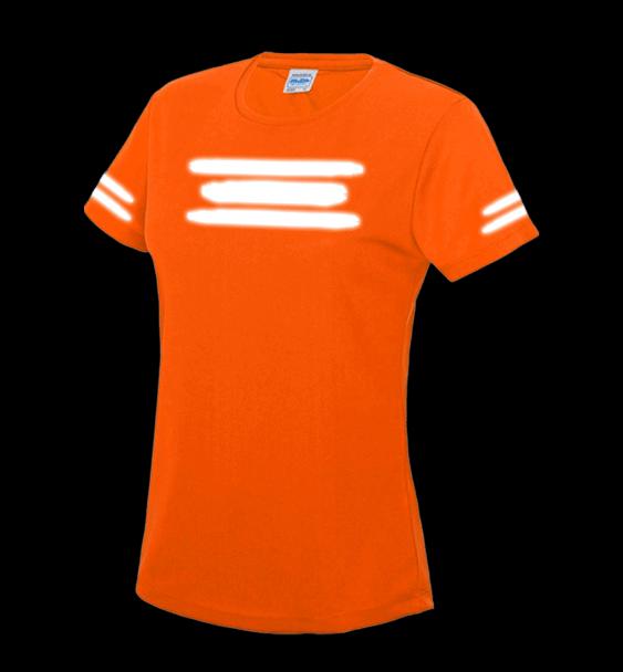 run-safe-electric-orange-tshirt