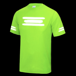 Running Safe Reflective T-Shirts