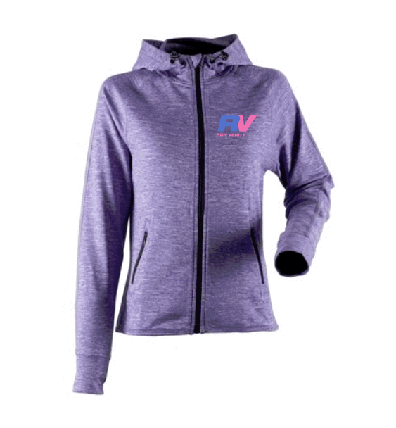 run verity purple jacket front