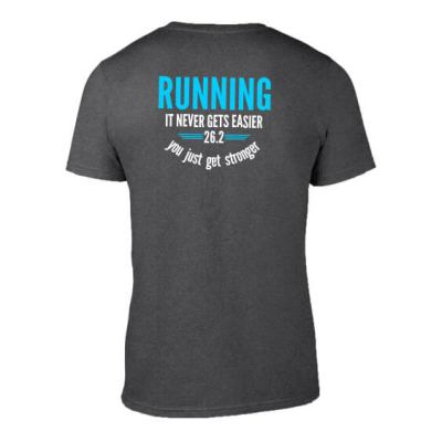 Running never gets easier mens