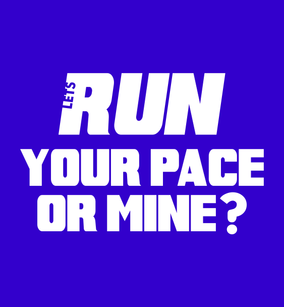 slogan your pace men
