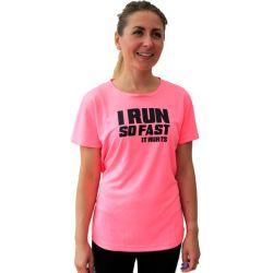 Running t-shirts i run so fast