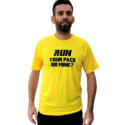 Running t-shirts your pace