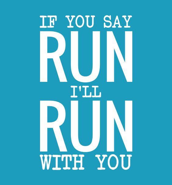 slogan run with you