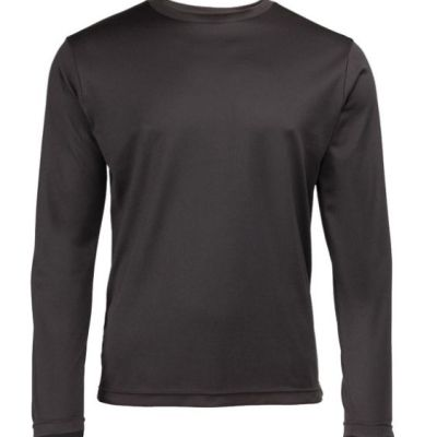 Mens long sleeve running top