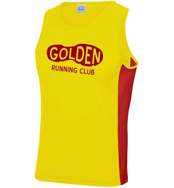 club contrast vest