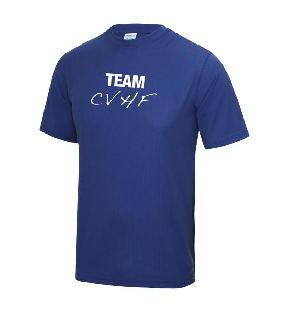 CVHF blue mens tshirt