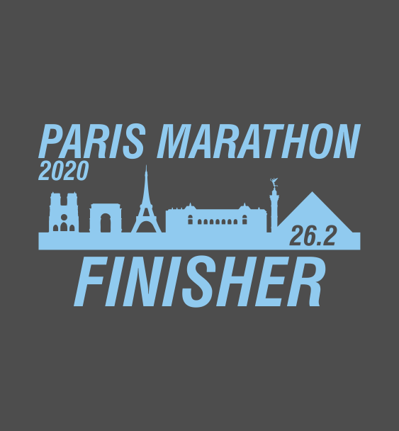 Paris finisher