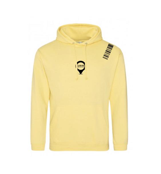 WMN hoodies yellow front