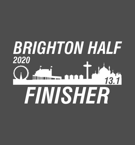 Brighton half finisher