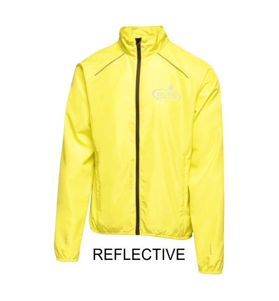 Irvine-Running-Club-reflective-jacket-front