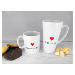 Custom Heart Mugs