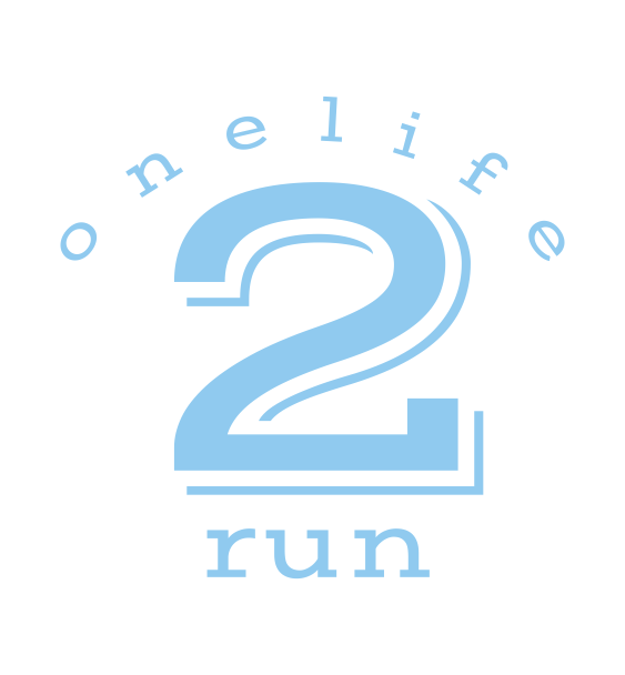 one life 2 run logo 2