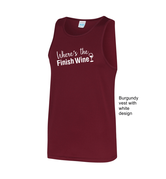Where's-the-finish-wine-burgundy-vest